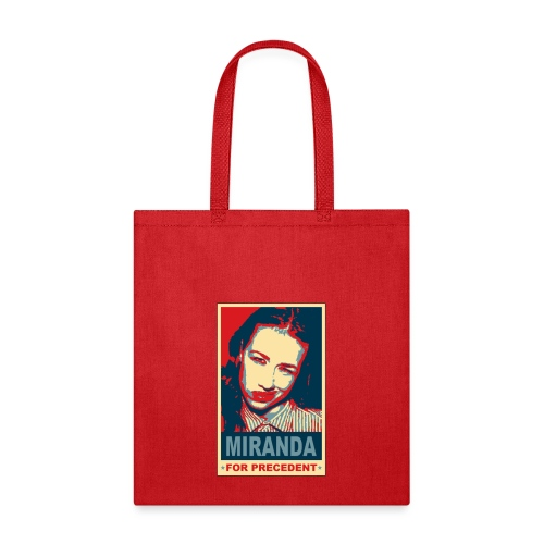Miranda for Precedent - Tote Bag
