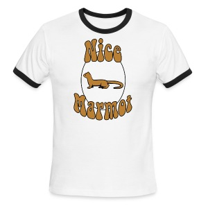 Nice Marmot Ringer T-Shirt - Men's Ringer T-Shirt