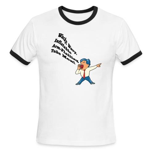 Wacky Wavy Inflatable Men Ringer T-Shirt - Men's Ringer T-Shirt