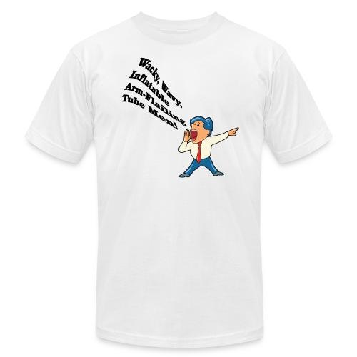 Wacky Wavy Inflatable Men American Apparel T-Shirt - Men's Fine Jersey T-Shirt