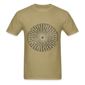 CamoSpiral Standard weight - Men's T-Shirt