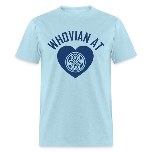 WHOVIAN AT HEART - Men's T-Shirt