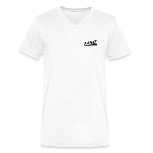 Mens FAME V-neck T-shirt - Men's V-Neck T-Shirt by Canvas