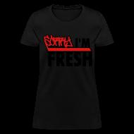 T-Shirts ~ Women's T-Shirt ~ Womens Dope Fresh T Shirts