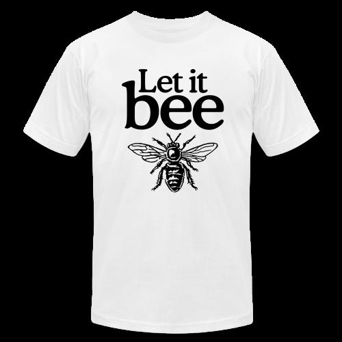 Let it bee t-shirt - Men's Fine Jersey T-Shirt