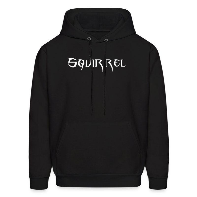 Mens Hooded Sweatshirt (Black) - Men's Hoodie