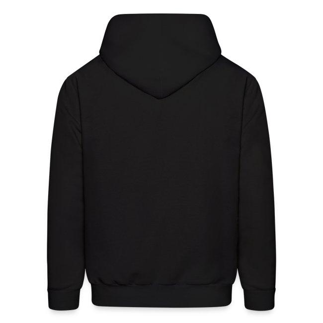 Mens Hooded Sweatshirt (Black)