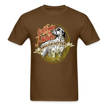 setter_gentleman_by_nature T-Shirts