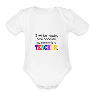 Baby Read - Short Sleeve Baby Bodysuit