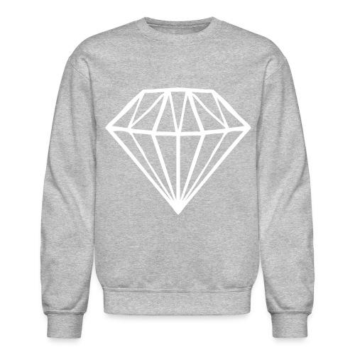 Diamond white $weat$hirt - Crewneck Sweatshirt