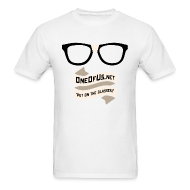 T-Shirts ~ Men's T-Shirt ~ One Of Us Put On The Glasses
