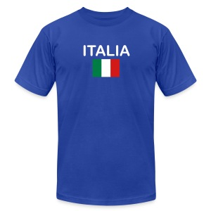 Italy - Men's Fine Jersey T-Shirt