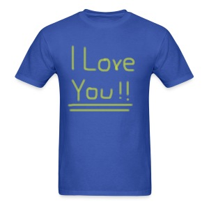 Ol' Bum-Bum - I Love You!! (Mens) - Men's T-Shirt