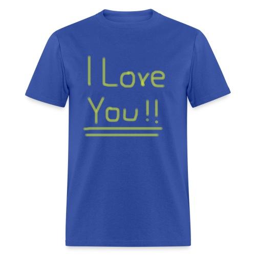 Ol' Bum-Bum - I Love You!! (Mens) - Men's T-Shirt