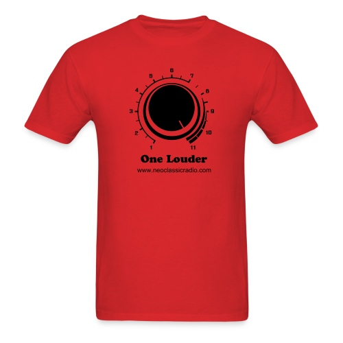 One Louder Red - Men's T-Shirt