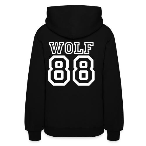 Wolf Hooded Jacket - Women's Hoodie