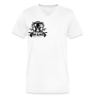 T-Shirts ~ Men's V-Neck T-Shirt by Canvas ~ Swole Crew (SMALL) Vneck