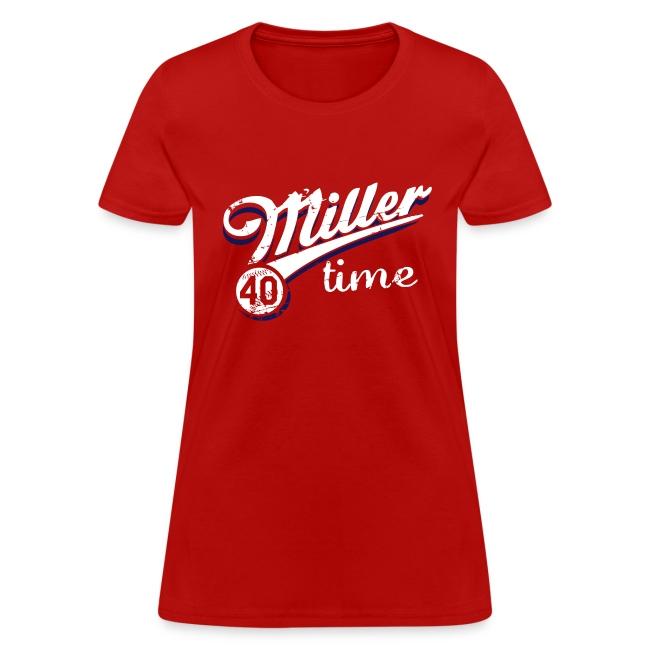 It's Miller Time - Womens Shirt