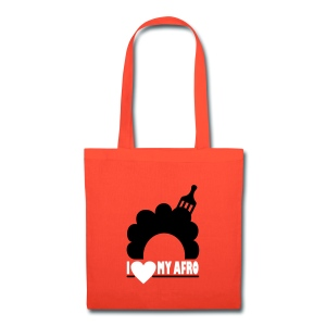 I Love My Afro bag - Tote Bag