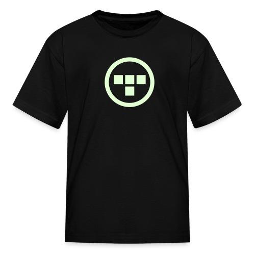 TRON uprising - kids (glow) - Kids' T-Shirt