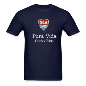 Men's Standard Weight T Pura Vida Costa Rica - Men's T-Shirt