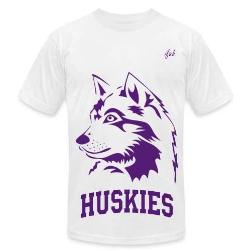 Huskies Shirt - Men's Fine Jersey T-Shirt