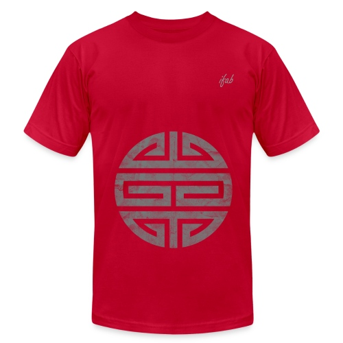 Blue Dragon Seal Tee - Men's Fine Jersey T-Shirt