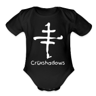 Baby Bodysuits ~ Baby Short Sleeve One Piece ~ Cruxshadows Onesy