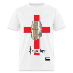 Crusader on White Men's Standard T - Men's T-Shirt