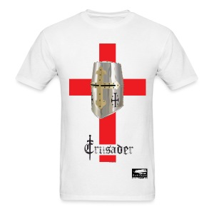 Crusader on White Men's Standard T - Men's T-Shirt