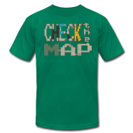T-Shirts ~ Men's T-Shirt by American Apparel ~ Check the Map