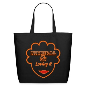 Natural & Loving It Bag - Eco-Friendly Cotton Tote