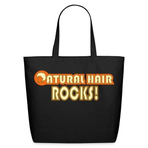 Natural Hair Rocks! Bag - Eco-Friendly Cotton Tote
