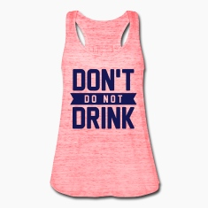 Don't do not drink Tanks