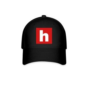 Badge sur noir - Badge on black - Casquette de Baseball