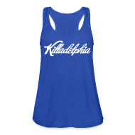 Tanks ~ Women's Flowy Tank Top by Bella ~ Killadelphia Tank