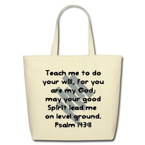 Teach Me God - Eco-Friendly Cotton Tote