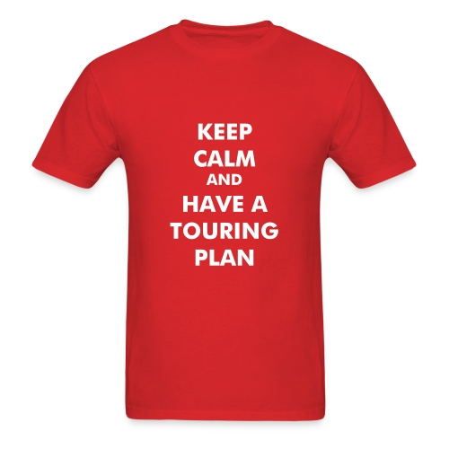 Touring Plan - Men's T-Shirt