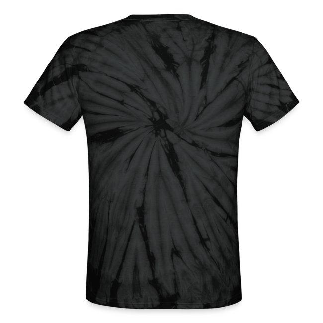 Unisex Tie Dye T-Shirt - White Logo