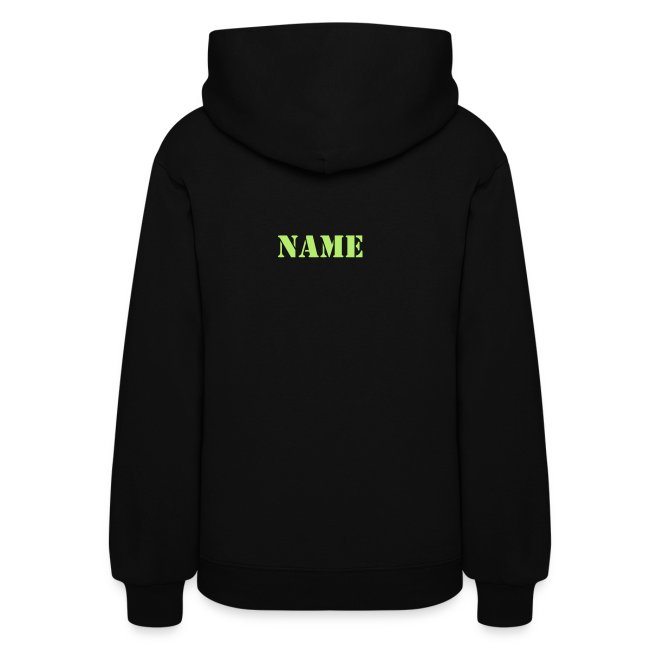 School Hoodie - Womens WITH NAME