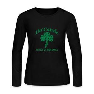 Womens Long Sleeve T-Shirt - Women's Long Sleeve Jersey T-Shirt