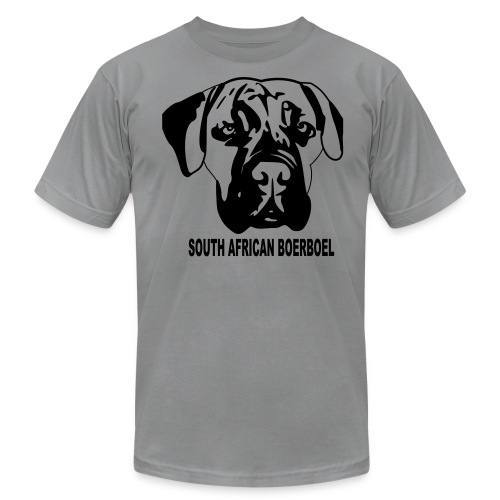 South African Boerboel T-Shirt - Men's Fine Jersey T-Shirt