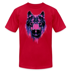 Wolf T-Shirt - Men's T-Shirt by American Apparel
