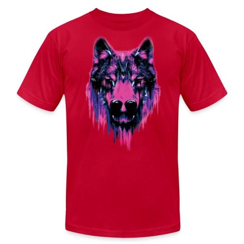 Wolf T-Shirt - Men's Fine Jersey T-Shirt