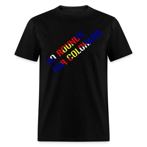 30 Rounds Slanted - Men's T-Shirt