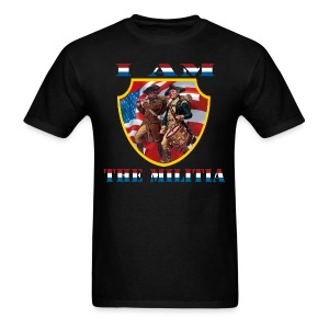 I Am the Militia Mens Tee (Chest Insignia) - Men's T-Shirt