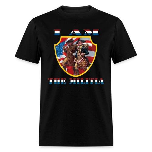 I Am the Militia Mens Tee (Chest Insignia) - Men's T-Shirt