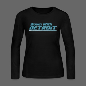 DWD Underline - Women's Long Sleeve Jersey T-Shirt