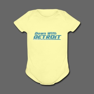 DWD Underline - Short Sleeve Baby Bodysuit