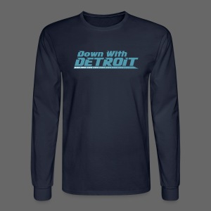 DWD Underline - Men's Long Sleeve T-Shirt